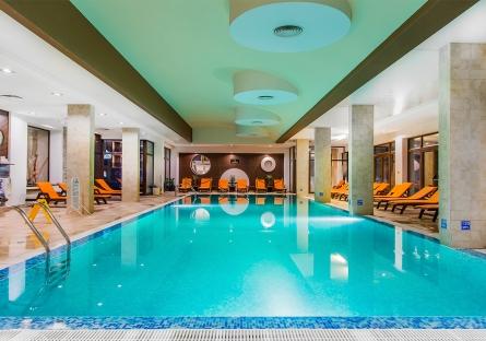 2 нощувки на база All Inclusive + ползване на вътрешен отопляем басейн, сауна и парна баня, от